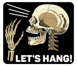 Skull and Bone Sticker English Version sticker #6899731