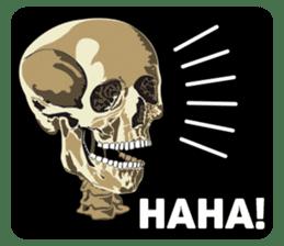 Skull and Bone Sticker English Version sticker #6899733