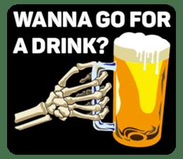 Skull and Bone Sticker English Version sticker #6899735