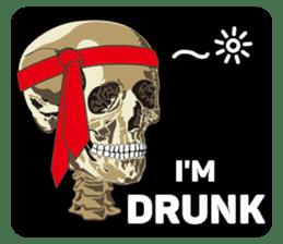 Skull and Bone Sticker English Version sticker #6899736