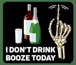 Skull and Bone Sticker English Version sticker #6899737