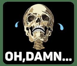 Skull and Bone Sticker English Version sticker #6899740