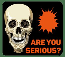 Skull and Bone Sticker English Version sticker #6899741