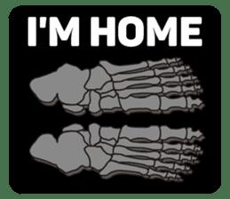 Skull and Bone Sticker English Version sticker #6899743