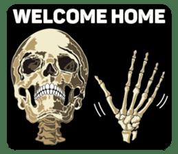 Skull and Bone Sticker English Version sticker #6899744