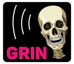 Skull and Bone Sticker English Version sticker #6899746