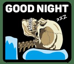 Skull and Bone Sticker English Version sticker #6899747