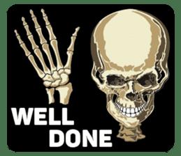 Skull and Bone Sticker English Version sticker #6899748