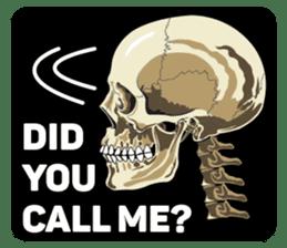 Skull and Bone Sticker English Version sticker #6899751
