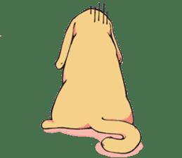 Hipster Cat & Ordinary Dog sticker #6901055