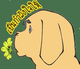 Hipster Cat & Ordinary Dog sticker #6901057