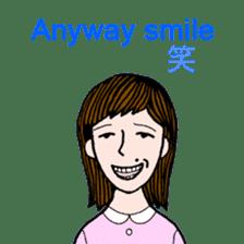 cheerful Japanese proverbs. sticker #6901994