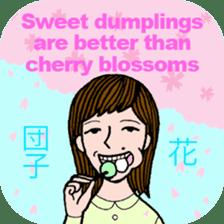 cheerful Japanese proverbs. sticker #6902003