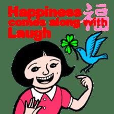 cheerful Japanese proverbs. sticker #6902013