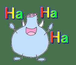 Elephant Haya (English version) sticker #6902277