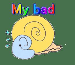 Elephant Haya (English version) sticker #6902299