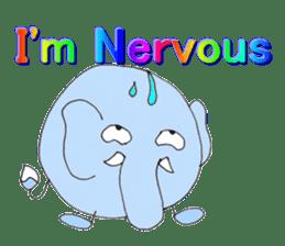 Elephant Haya (English version) sticker #6902304