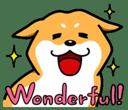 Shiba Inu Genki No.3 sticker #6907392
