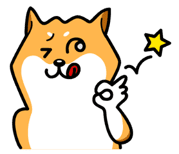 Shiba Inu Genki No.3 sticker #6907412