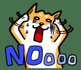 Shiba Inu Genki No.3 sticker #6907431