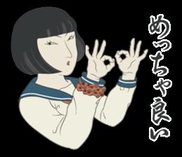 """UKIYOE"" Girls high school sticker #6907952"