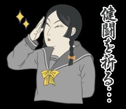"""UKIYOE"" Girls high school sticker #6907964"