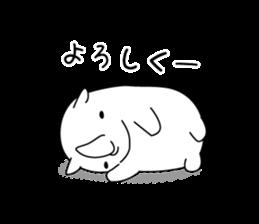 Troublesome Rhinoceros sticker #6908153