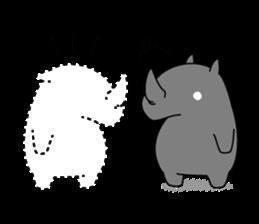 Troublesome Rhinoceros sticker #6908182