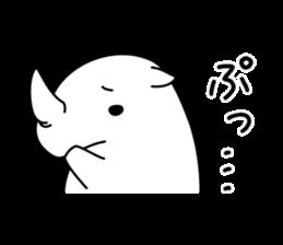 Troublesome Rhinoceros sticker #6908189
