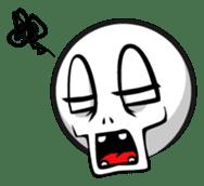 Expressive emoticon stickers sticker #6910605