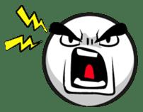 Expressive emoticon stickers sticker #6910630