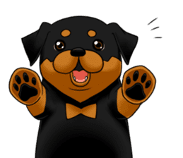 The Rottweilers. sticker #6919632