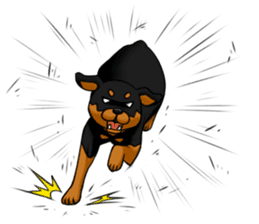 The Rottweilers. sticker #6919650