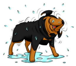 The Rottweilers. sticker #6919655