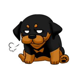 The Rottweilers. sticker #6919661