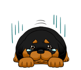The Rottweilers. sticker #6919663