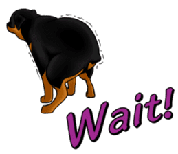 The Rottweilers. sticker #6919671