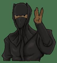 Cool ninja 2 sticker #6920672