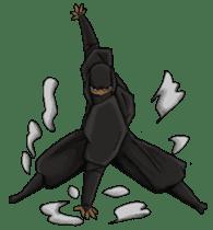 Cool ninja 2 sticker #6920676