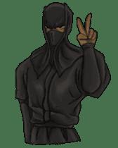 Cool ninja 2 sticker #6920678