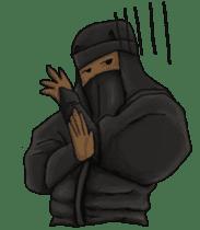 Cool ninja 2 sticker #6920681