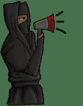 Cool ninja 2 sticker #6920684