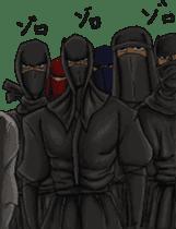 Cool ninja 2 sticker #6920692