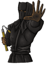 Cool ninja 2 sticker #6920695
