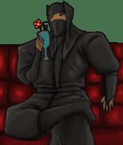 Cool ninja 2 sticker #6920698
