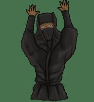 Cool ninja 2 sticker #6920699
