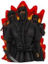 Cool ninja 2 sticker #6920703