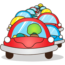 Pura, the funny turtle, version 6 sticker #6925862