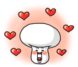 One day I met a mushroom in a forest. sticker #6927433