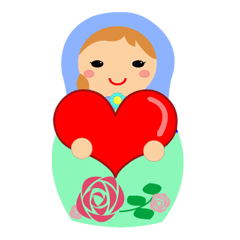 Let's talk with matryoshka doll